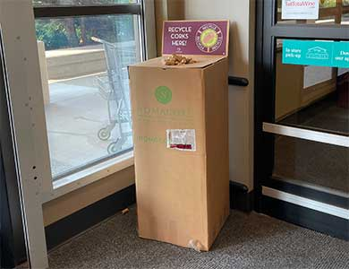 Total Wine & More Cork Recycling Box